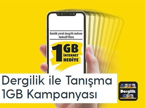 Photo of Dergilik 1 Gb Bedava internet nasıl alınır?
