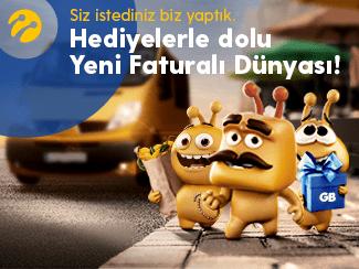 Turkcell Faturalı Hatta Geçenler için Joker Hediyeler