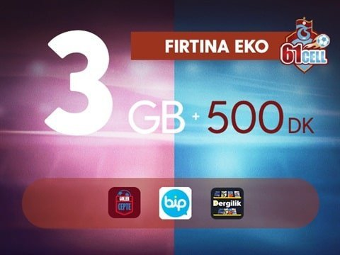 Photo of Turkcell Trabzonspor Fırtına 3 Gb Ekonomi Paketi