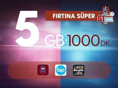 Photo of Turkcell Trabzonspor Fırtına Süper 5 Gb Paketi