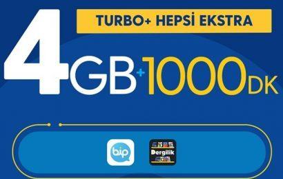 Turkcell Turbo Katlanan 2GB internet Kampanyası