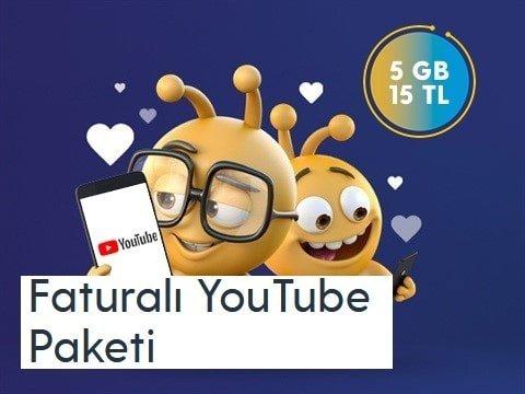 Photo of Turkcell Youtube 5 Gb 15 TL Paketi