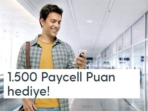 Photo of Paycell Hediye 1.500 Puan Kampanyası