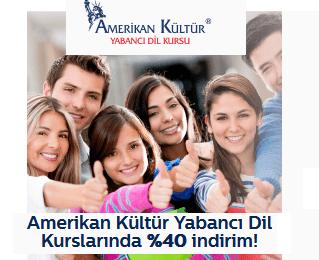 Türk Telekom Amerikan Kültür Yabancı Dil %40 indirim Kodu