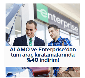 Photo of Türk Telekom Araç Kiralama indirim Kodu (ALAMO ve Enterprise)