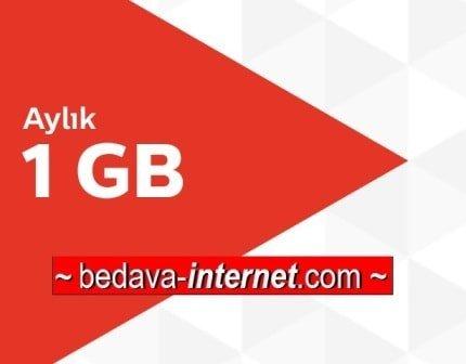 Türk Telekom Aylık 1GB Ek internet Paketi 19 TL