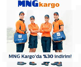 Türk Telekom MNG Kargo %30 indirim Kodu