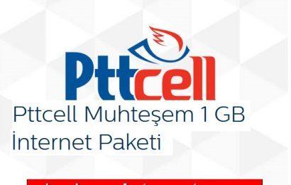 Türk Telekom PttCell 1 GB internet paketi 3 TL