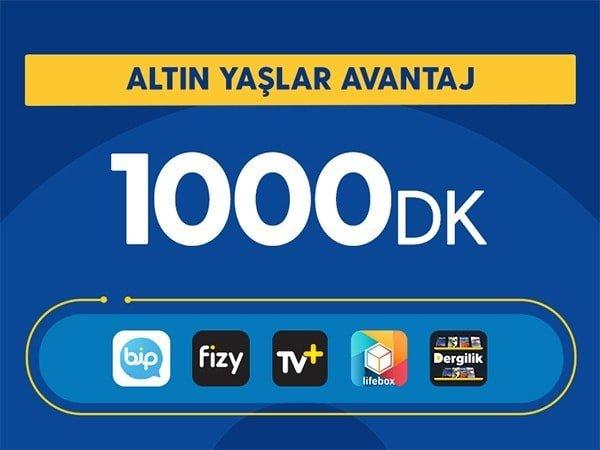 Turkcell 65 Yaş Üstü Altın Yaşlar Avantaj Paketi 39 TL