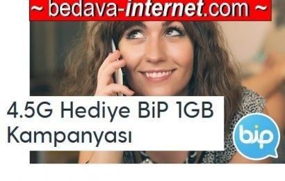 Turkcell Bip Ücretsiz 1 GB Nasıl Alınır?