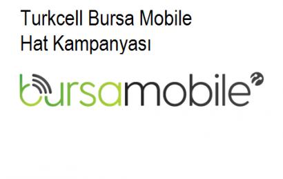 Turkcell Bursa Mobile Hat Kampanyası