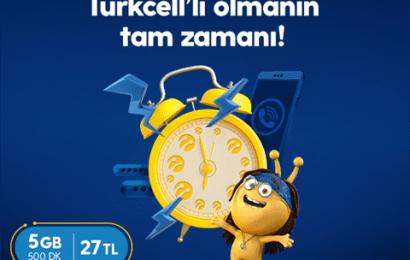 Turkcell Hoşgeldin 2 GB Paketi 27 TL