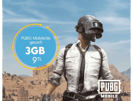 Photo of Turkcell PUBG (Papçi) Oyna 3 GB Paketi 9 TL