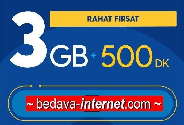 Photo of Turkcell Rahat Fırsat 3 GB Paketi 26 TL