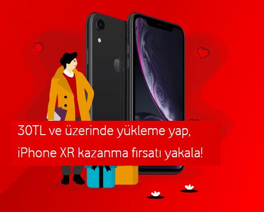 Vodafone 30 TL yükle iPhone XR Kazan Kampanyası