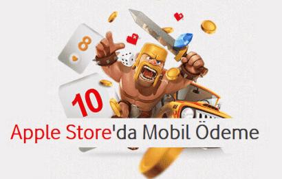 Vodafone Apple Store Kredi Kartsız Ödeme Nasıl Yapılır?