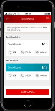 Vodafone Süper Uyumlu nasıl yapılır?