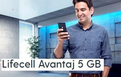Lifecell Avantaj 5 GB Paketi 35 TL
