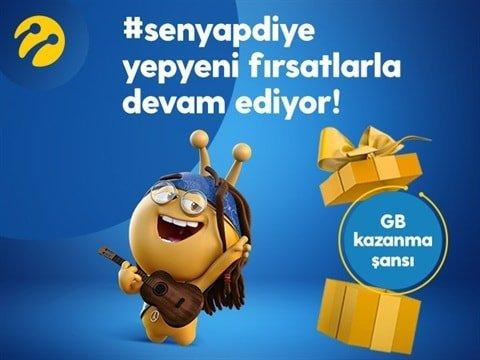 Bip 10GB hediye internet nasıl alınır? #senyapdiye