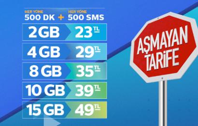 Türk Telekom Aşmayan Duran Tarifeler nasıl yapılır?
