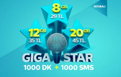 Türk Telekom Efsane GigaStar Tarifeleri