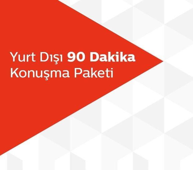 Photo of Türk Telekom Yurt Dışı 90 Dakika Konuşma Paketi 55 TL
