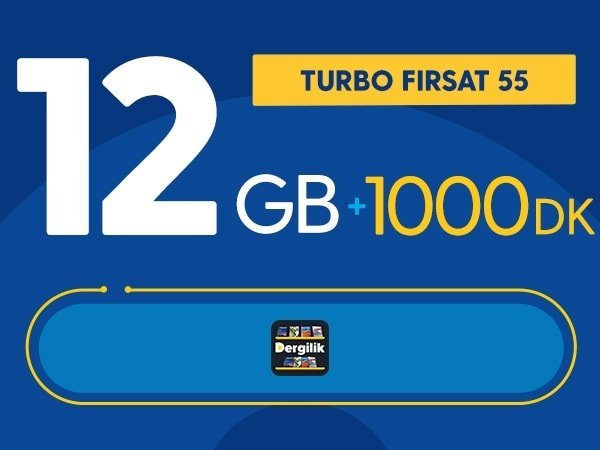 Photo of Turbo Fırsat 12GB Paketi 55 TL