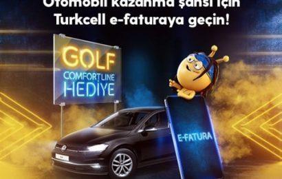 Turkcell Golf e-fatura çekilişine katılma