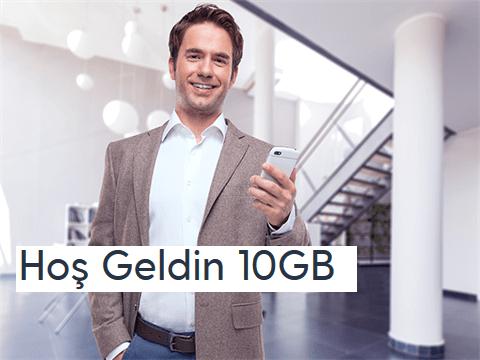 Turkcell Hoş Geldin 10GB Paketi