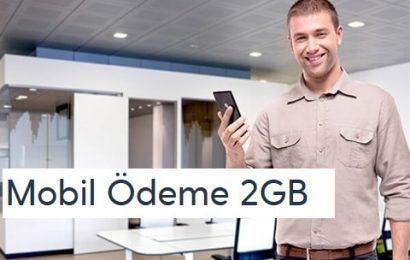 Turkcell Mobil Ödeme 2GB Kampanyası