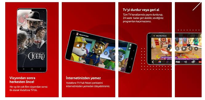 Vodafone TV Özellikleri
