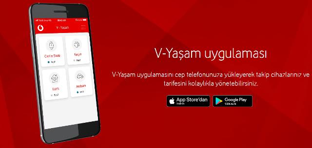 Vodafone V-Yaşam Takip nedir?