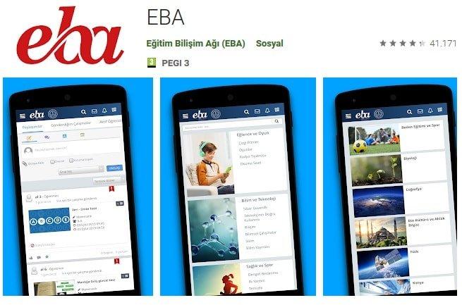 Ücretsiz EBA uygulaması apk indir