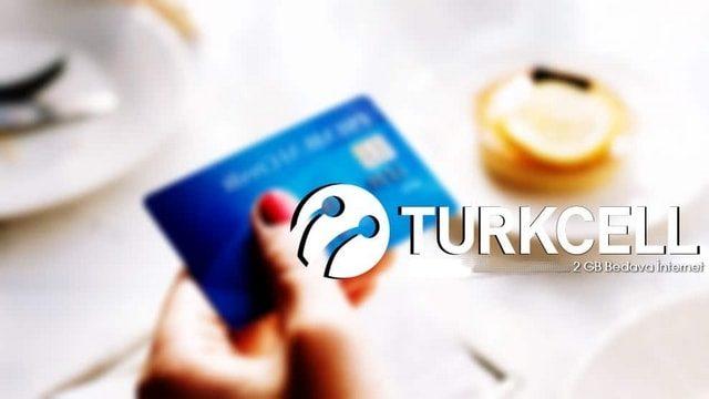 Kredi kartı kullanımına 2 GB bedava internet