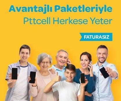Pttcell Turkuaz 9GB Paketi 750 Dakika 30 TL