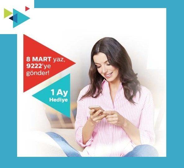 Türk Telekom 8 Mart 2020 Dünya Kadınlar Günü