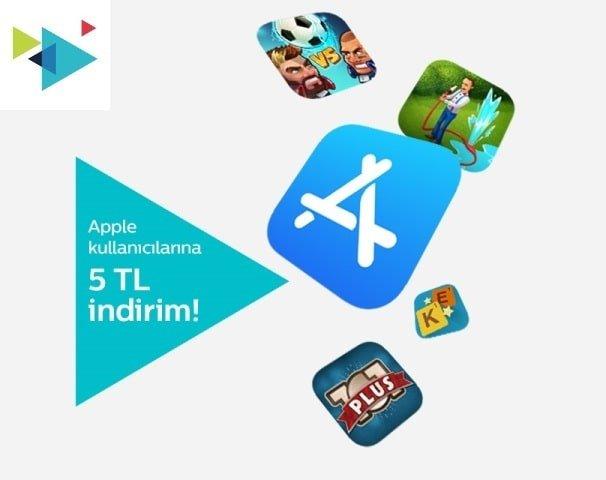Türk Telekom App Store 5 TL Kazanma Kampanyası