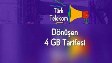 Photo of Türk Telekom Dönüşen Tarife İle Bedava İnternet