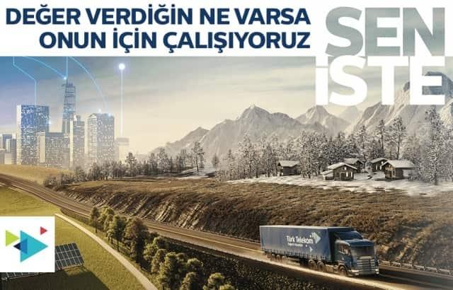 Türk Telekom Sen İste Kampanyası