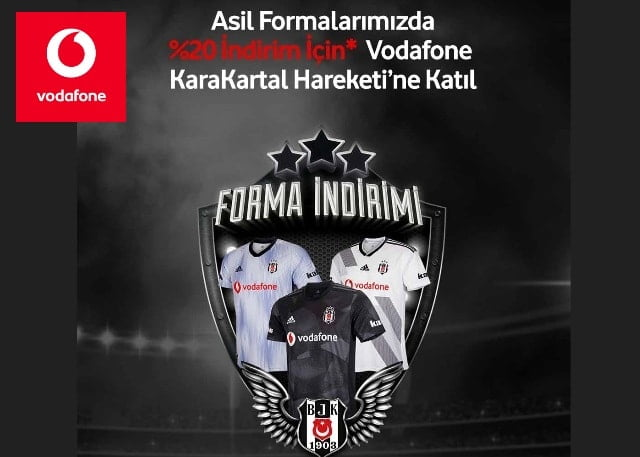 Photo of Vodafone Beşiktaş Ek 2 GB Paketi