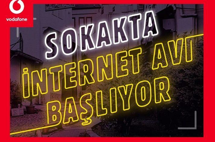 Vodafone Bedava İnternet Avcıları Oyunu