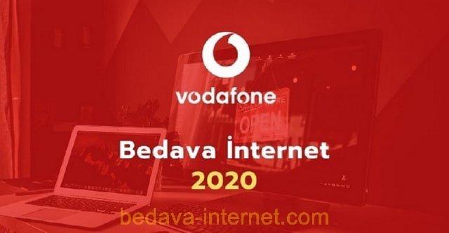 Güncel Vodafone  Bedava İnternet Kampanyaları