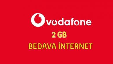Photo of Vodafone Pazartesi TL Yükleyene 2 GB İnternet Hediye