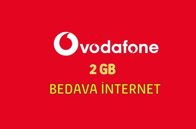 2 GB Bedava İnternet