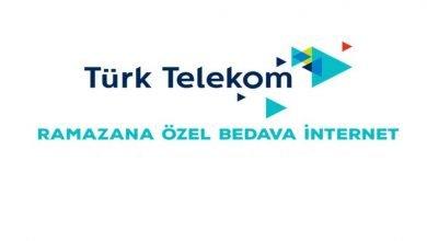 Photo of Türk Telekom 2020 Ramazanda Bedava İnternet Fırsatları