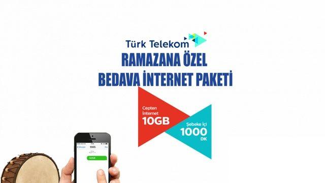 Türk Telekom 2020 Ramazan Bedava İnternet