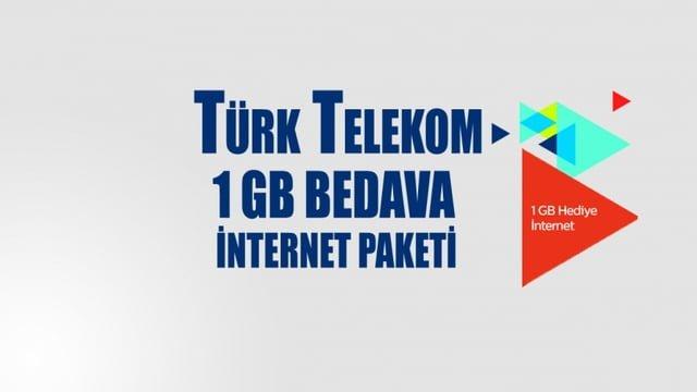 Turk Telekom 23 Nisan Bedava Dakika ve İnternet