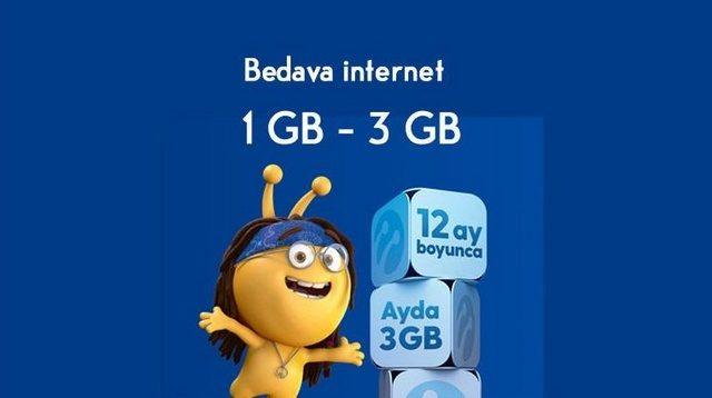 Turkcell Çalışan Yakınlarına Bedava İnternet