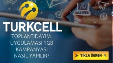 Photo of Turkcell Toplantıdayım Uygulamasını Kullanana 1 GB Bedava İnternet