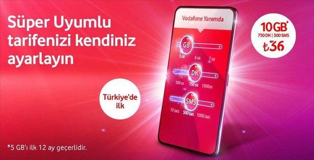Vodafone 2 GB Bedava İnternet